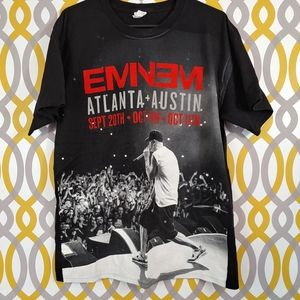 EMINEM Concert Band Tee Shirt Size Large